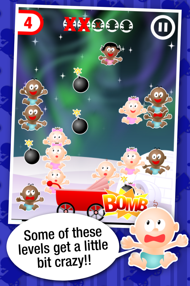 iOS game promo screenshot