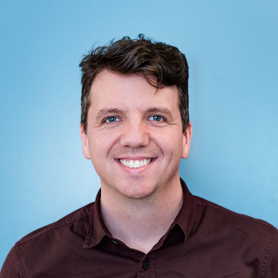 Photo of Zach Collier, technical product manager, mobile and web developer, designer, and team leader.